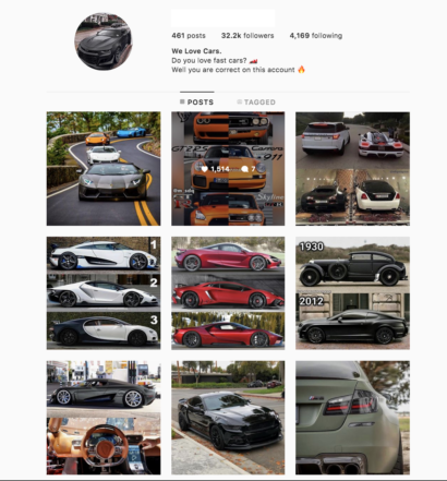 Buy a Cars Account with Real Followers and Usernames. We have the best instagram accounts for sale, check our reviews from previous buyers on our accounts on sale. You won't regret it!