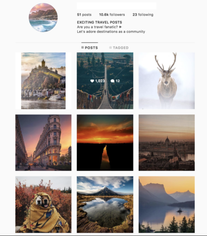Buy a Travel Account with Real Followers and Usernames. We have the best instagram accounts for sale, check our reviews from previous buyers on our accounts on sale. You won't regret it!