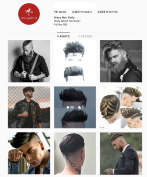 Buy Men's Hairstyle Instagram Account from SurgeGram. We have the best Instagram Account for sale right now with real engagements and followers!