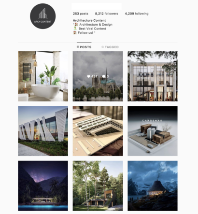 Buy Architecure Instagram Account with Real Followers and Engagements. See our 5 star Reviews on our Google Business Page. #1 Trusted Instagram Account Seller