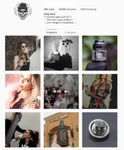 Buy Vape Instagram Account with Real Followers and Engagements. See our 5 star Reviews on our Google Business Page. #1 Trusted Instagram Account Seller. Instagram Account for Sale.