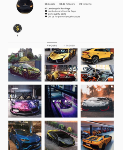 Buy Cars Instagram Account with Real Followers and Engagements. See our 5 star Reviews on our Google Business Page. #1 Trusted Instagram Account Seller. Instagram Account for Sale.