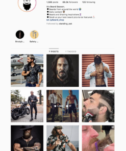 Buy Beard Lifestyle Instagram Account with Real Followers and Engagements. See our 5 star Reviews on our Google Business Page. #1 Trusted Instagram Account Seller