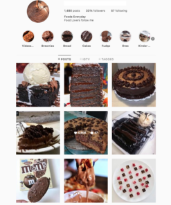 Buy Desserts Instagram Accounts with Real Username and Engagements. See our 5 star Reviews on our Google Business Page. Instagram Accounts for Sale