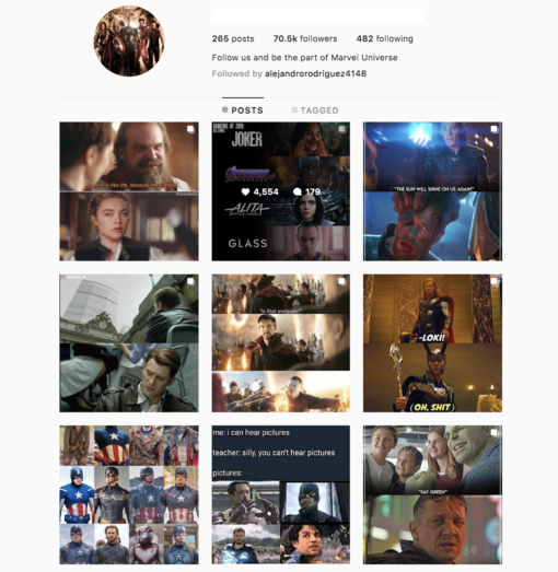 Buy Marvel Instagram Account with Real Followers and Engagements. See our 5 star Reviews on our Google Business Page. #1 Trusted Instagram Account Seller