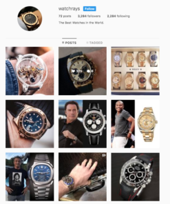 Buy Watch Lifestyle Instagram Accounts with Real Usernames and Engagements. See our Reviews on our Google Business Page. #1 Trusted Instagram Account Seller