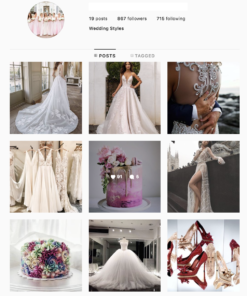 Buy Wedding Lifestyle Instagram Account with Real Followers and Engagements. See our 5 star Reviews on our Google Business Page. #1 Trusted Instagram Account Seller
