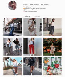Buy Women Fashion Instagram Account for Sale