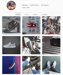Sneakers Instagram Accounts Sale
