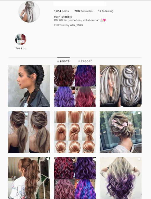Buy Hairstyle Instagram Accounts for Sale