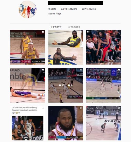 Buy Sports Instagram Accounts