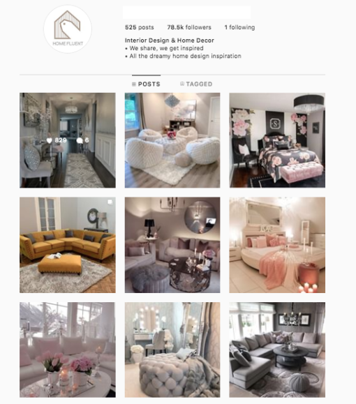 Buy Decor Instagram Accounts