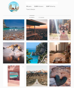 Buy Travel Instagram Accounts