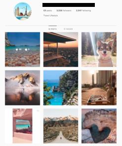 Buy Travel Instagram Accounts