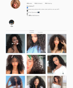 Buy Curly Instagram Accounts
