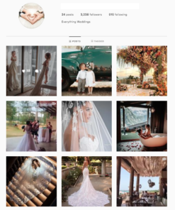 Buy Wedding Instagram Account from SurgeGram