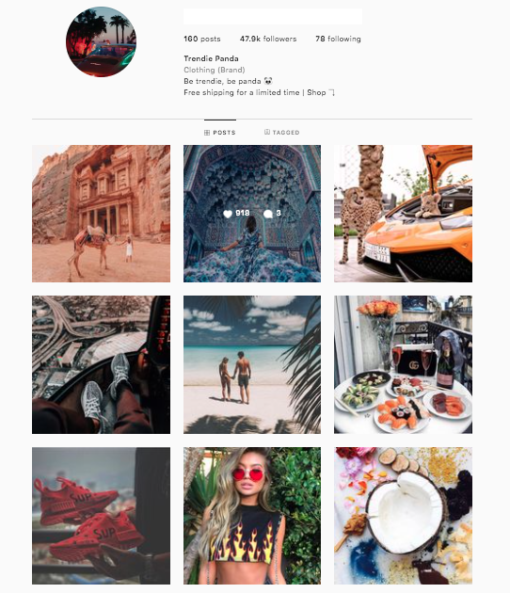 Buy Luxury Instagram Account
